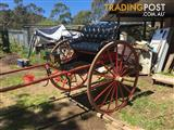 HORSE GIG AND HARNESS For SALE