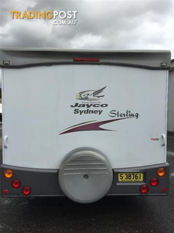 USED 20'x7'9'' 2006 JAYCO STERLING