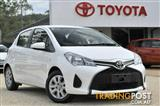 2015 Toyota Yaris Ascent NCP130R MY15 Hatchback