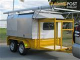 Builder's trailer, lockable half new price