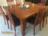 Square Dining Table 8 Chairs 1500 X 1500 Excellent Condition
