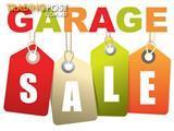 GARAGE SALE - Come grab a bargain!