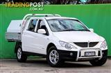 2009  SsangYong Actyon Sports  100 Series Utility
