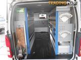 2011 TOYOTA HIACE LWB TRH201R MY11 UPGRADE 4D VAN