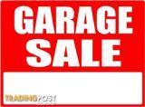 Garage sale Saturday only 7-12