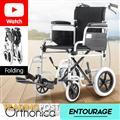 Orthonica Transport Wheelchair with Handle Brakes - Entourage