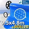 Pool Cover and Roller 9 x 5m