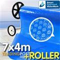 Pool Cover and Roller 7 x 4m