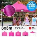 3x3 Marquee - PopUp Gazebo - Pink
