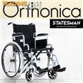 Orthonica 24in Wheelchair with Gripped Tubes - Statesman