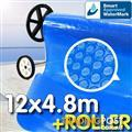 Pool Cover and Roller 12 x 4.8m