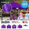 3x3 Marquee - PopUp Gazebo - Purple