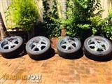 "20"" x 11"" Wheels and Tyres"