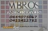 M'BROS PAINTING SERVICES