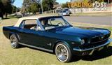 1966 FORD MUSTANG CONVERTIBLE 289 V8 AUTOMATIC