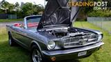 1965 FORD MUSTANG CONVERTIBLE 289 V8 RARE 5 SPEED MANUAL
