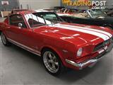 1965 FORD MUSTANG FASTBACK RANGOON RED EXCELLENT CONDITION BEST ONE I'VE SEEN!!