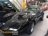 1979 CHEVROLET CORVETTE BLACK WITH TAN STUNNING COND! 71000 MILES T TOP