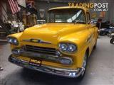 1958 CHEVROLET APACHE 3100 STEPSIDE UTE 390 V8 AUTO RARE!!