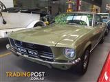 1968 FORD MUSTANG GT V8 390 GENIUNE S CODE MATCHING NUMBERS