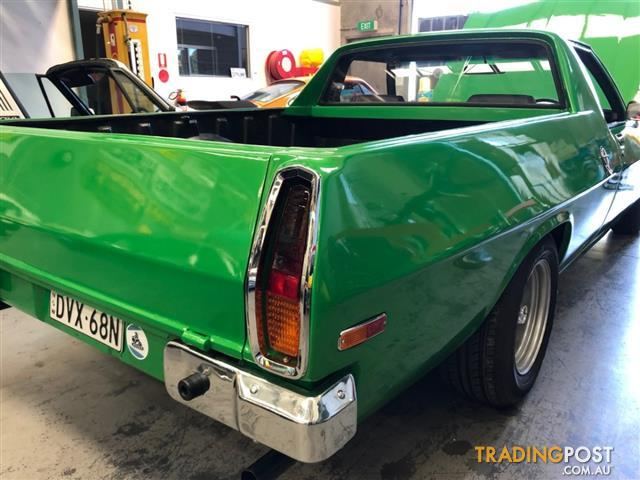 HOLDEN-HQ-UTE-FINISHED-IN-ATOMIC-GREEN-308-RECO-WITH-5-SPEED