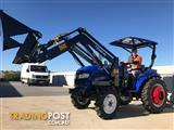 2017 Trident 35HP tractor, 4WD + 4 in 1 Bucket