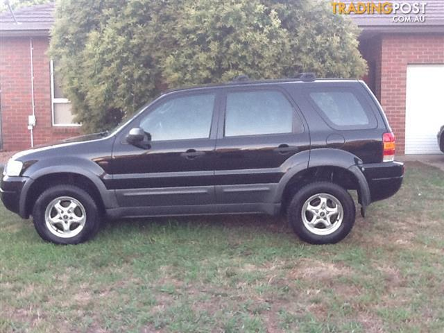 2002 ford escape xls ba 4d wagon for sale in shepparton vic 2002 ford escape xls ba 4d wagon. Black Bedroom Furniture Sets. Home Design Ideas