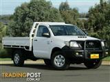2011 Toyota Hilux Workmate KUN26R MY12 Cab Chassis