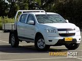 2012 Holden Colorado LX Crew Cab RG MY13 Cab Chassis