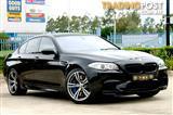 2012 BMW M5 F10 MY12 4D SEDAN