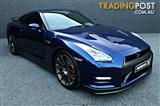 2011 NISSAN GT-R R35 MY11 2D COUPE