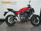 2014 Yamaha MT-07LA 660CC