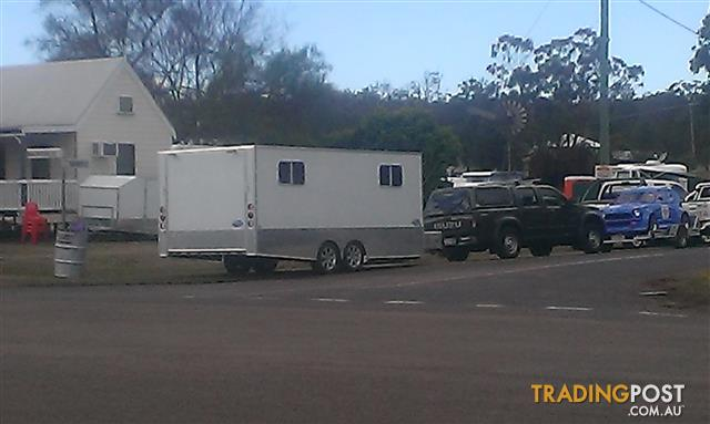 Toy Hauler/Enclosed Car Trailer