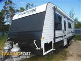 2015  CARAVAN FORTITUDE EVER READY  22'6' CARAVAN