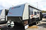 2016  CARAVAN FORTITUDE ENTERTAINER  21'9 CARAVAN