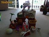 Dinosaur Playset Imaginext T-Rex Mountain