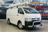 2012 Toyota Hiace LWB KDH201R MY11 Upgrade Van