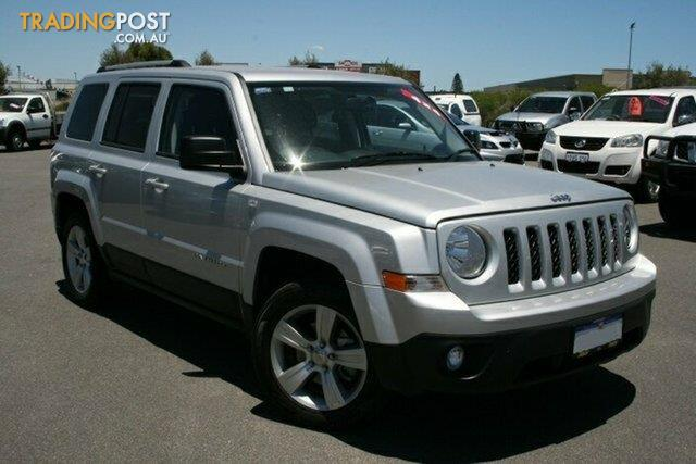 2013 jeep patriot limited 4x4 mk my14 4d wagon for sale. Black Bedroom Furniture Sets. Home Design Ideas
