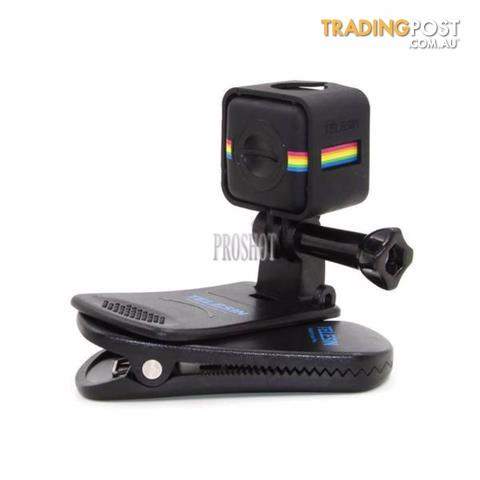 Swivel Backpack Clip Mount with Frame Mount Adapter for GoPro for ...