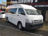2008 TOYOTA HIACE COMMUTER KDH223R MY07 UPGRADE BUS