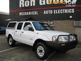 2002 NISSAN NAVARA DX (4x4) D22 SERIES 2 DUAL CAB P/UP