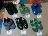 6 Pairs Quality Boys Shoes/Boots sizes 10-12 Suit 3 -5yr olds.