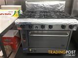 LPG Goldstein 6 Burner Ranges With Fan Forced Convection Ovens PF-6-28FF