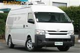 2016 Toyota Hiace High Roof Super LWB KDH221R Van