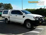 2012 Ford Ranger XL Double Cab PX Cab Chassis