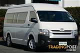 2014 Toyota Hiace Commuter High Roof Super LWB KDH223R MY14 Bus