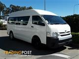 2015 Toyota Hiace Commuter High Roof Super LWB KDH223R Bus