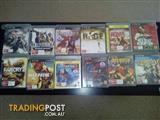 All 12 Ps3 games in good condition for sales $10ea