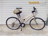 "Mirage malvern star 18 speed mountain bike26"" come with helmet in good condition $80 / ono"