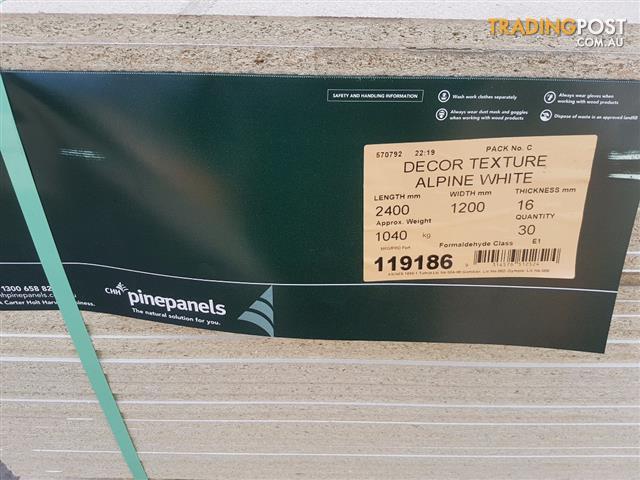 Whiteboard Melamine 16mm HMR